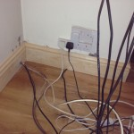 Skirting Boards and wires