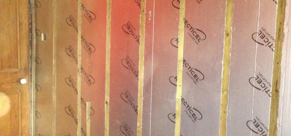 Justin & Bretts wall insulation