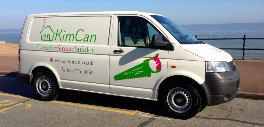 KimCan's van is now sign written, ask the driver for a card.