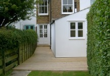 Island Wall Rear Extension