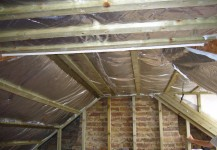 Insulation in a loft conversion