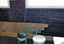Tiling at St Mildreds Avenue
